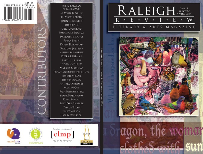 Raleigh Review Vol 4.1 cover